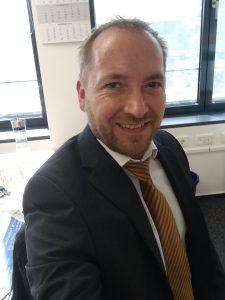 """Werner Barz Fachbereichsleiter """"Zentrale Dienste, Personal und Service-Center"""""""