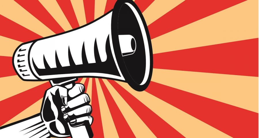 Lautsprecher Mitarbeitermotivation im öffentlichen Dienst